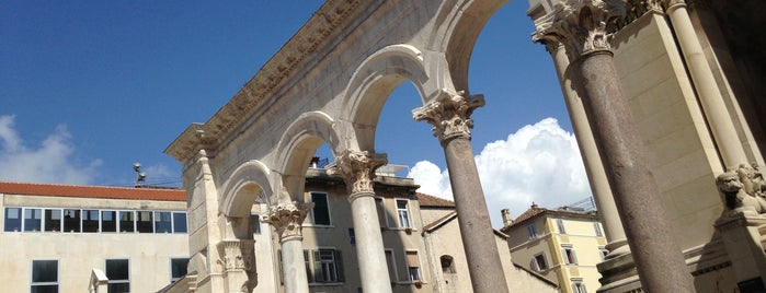 Diocletian's Palace is one of Split.