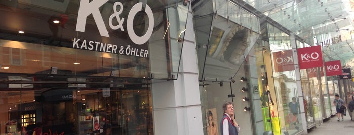 Kastner & Öhler is one of Stores and services in Graz.