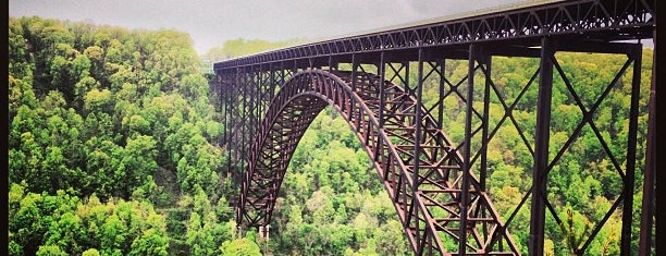 New River Gorge Overlook is one of Wild and Wonderful West Virginia.