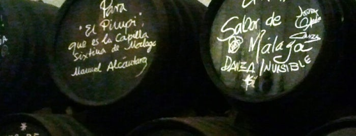 El Pimpi is one of Málaga #4sqCities.
