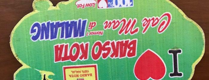 Bakso Kota Cak Man is one of Kuliner Malang.