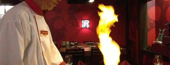 Benihana is one of Top 10 restaurants when money is no object.