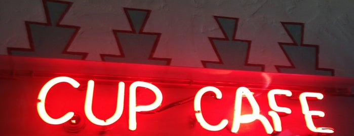 The Cup Cafe is one of Tucson.