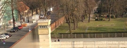 Berlin Wall Memorial is one of Innerdt. Grenze / Berliner Mauer - german border.