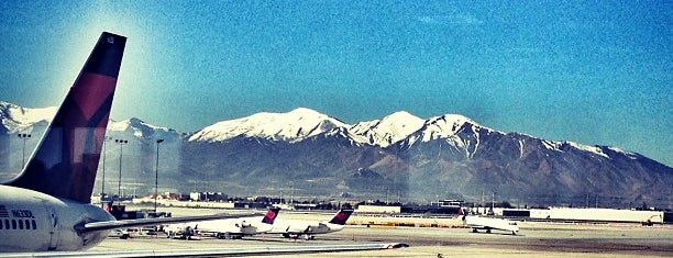 Aeropuerto Internacional de Salt Lake City (SLC) is one of Airports been to.