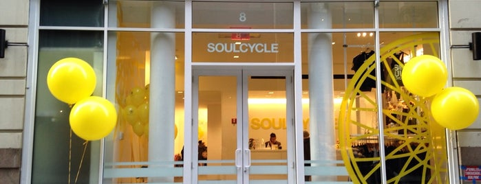SoulCycle 19th is one of Foursquare Flatiron - Activities.