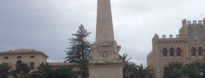 Plaça d'es Born is one of Menorca.