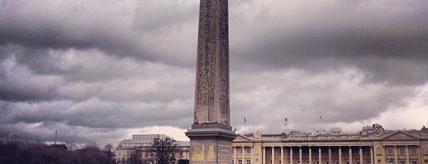 Place de la Concorde is one of Paris - best spots! - Peter's Fav's.