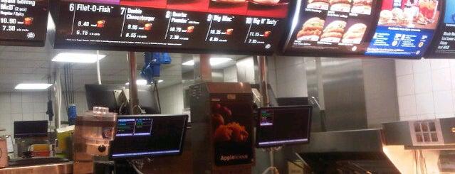 McDonald's is one of like.