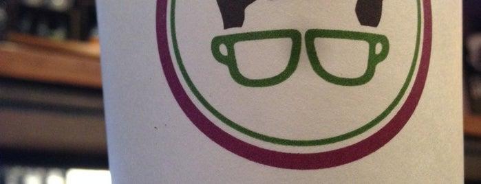 Gregorys Coffee is one of Espresso - Manhattan < 23rd.