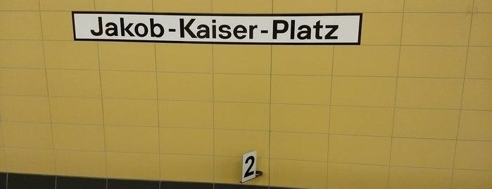 U Jakob-Kaiser-Platz is one of U-Bahn Berlin.