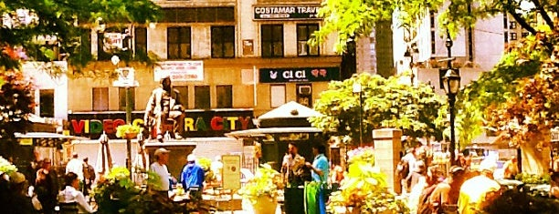 Greeley Square is one of great outdoors in manhattan.