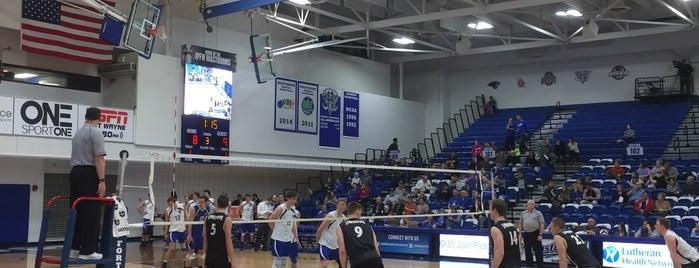 Hilliard Gates Sports Center is one of Indiana University Purdue University - Fort Wayne.