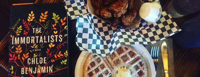 Nate's Wings & Waffles is one of Seattle.