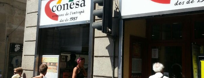 Conesa is one of Barcelona's Best Sandwich Places - 2013.