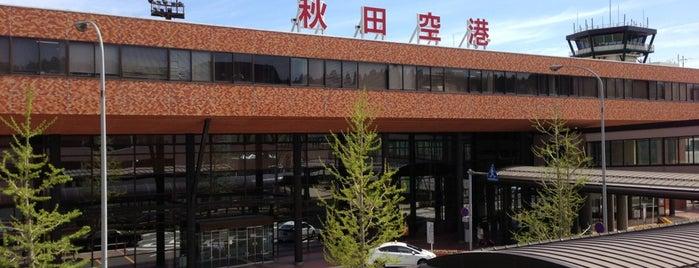 秋田空港 (AXT) is one of World AirPort.