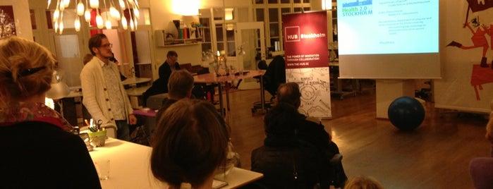 ImpactHub Stockholm is one of ImpactHUB Global Locations.