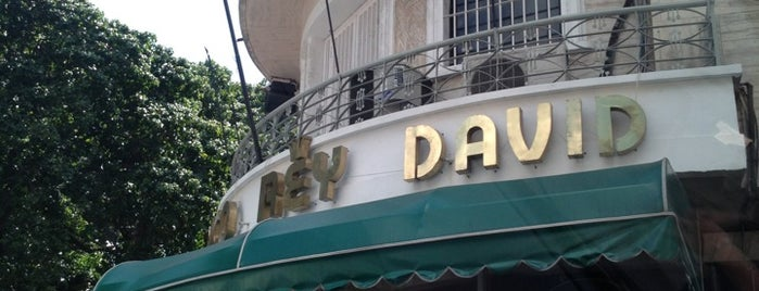 Rey David is one of Comida.
