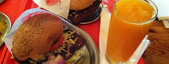 Yellow Sunshine Burger is one of Vegetarian & Vegan Restaurants in Berlin.
