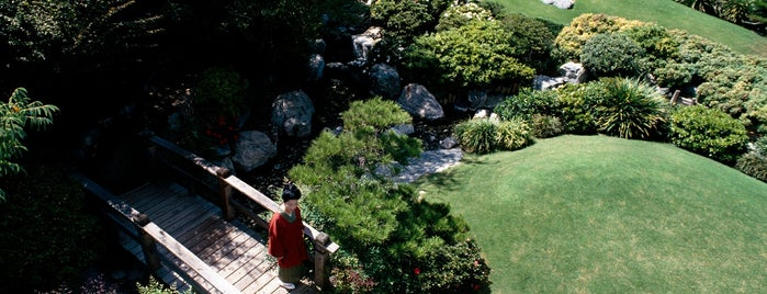 James Irvine Japanese Garden at the JACC is one of Discover Los Angeles.