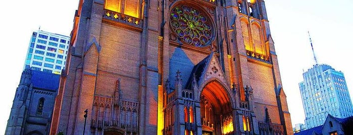 Grace Cathedral is one of City By The Bay.
