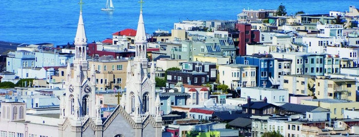 North Beach is one of City By The Bay.