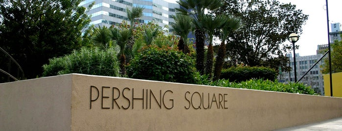 Pershing Square is one of Discover Los Angeles.