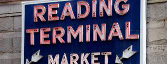 Reading Terminal Market is one of Historic Philadelphia.
