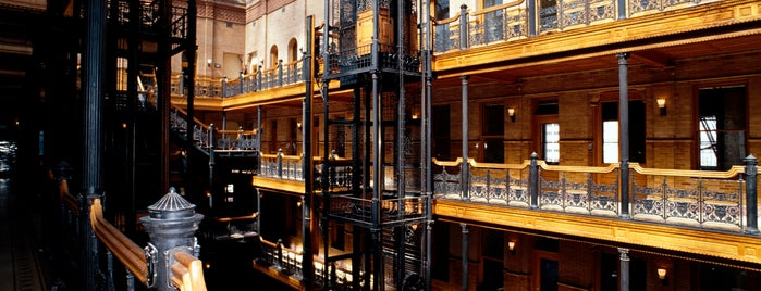 Bradbury Building is one of Discover Los Angeles.