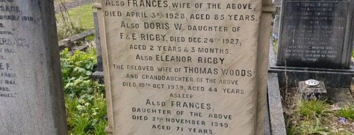 Eleanor Rigby's Grave is one of Ireland England Scotland Trip.