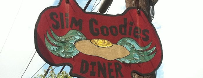 Slim Goodies Diner is one of New Orleans Eats.