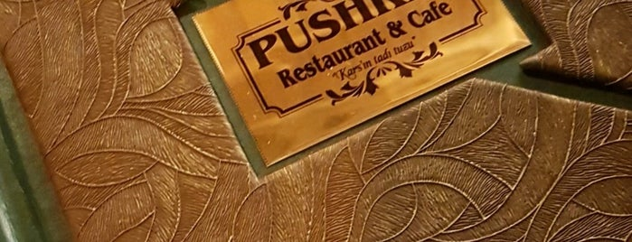 Puşki̇n Cafe&Restaurant is one of Özge 님이 좋아한 장소.