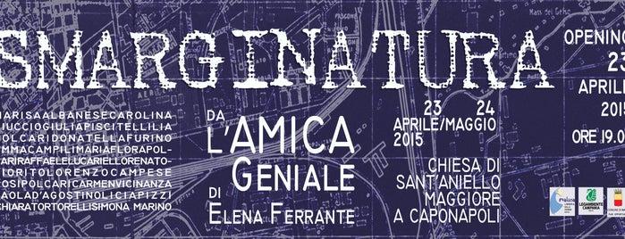 evaluna libreria/artgallery is one of ZeroGuide • Napoli.