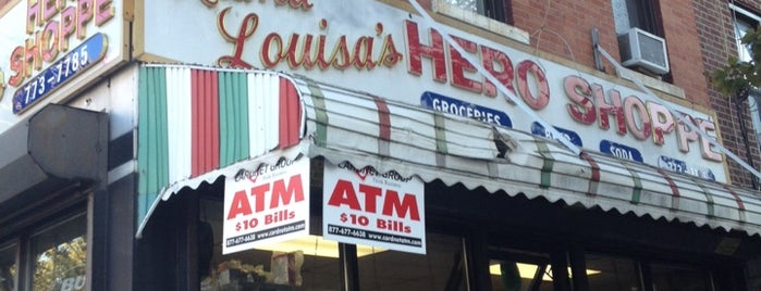Mama Louisa's Hero Shoppe is one of Nyc.