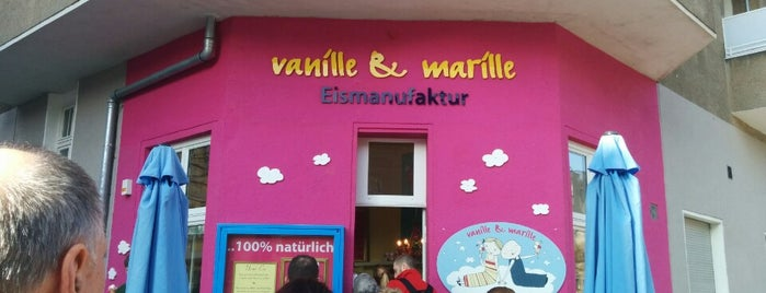 vanille & marille is one of Snacks.