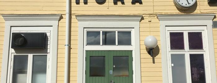 Mora Station is one of Tågstationer - Sverige.