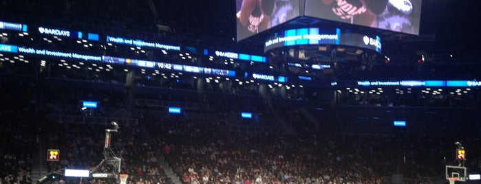 Barclays Center is one of My Favorite Things.