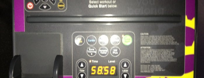 Planet Fitness is one of My Favorite Things.