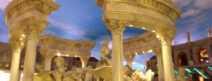 Festival Fountain - The Forum Shops at Caesars Palace is one of Las vegas.