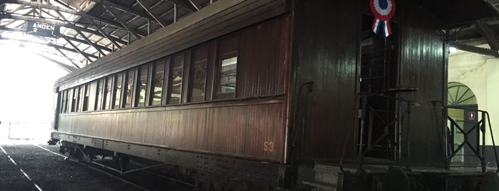 Museo Ferroviario de Asuncion is one of best places to visit in Asuncion, Paraguay.