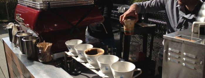 Blue Bottle Cart is one of NY Espresso.