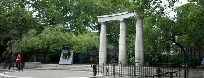 Athens Square Park is one of USA NYC QNS Astoria.