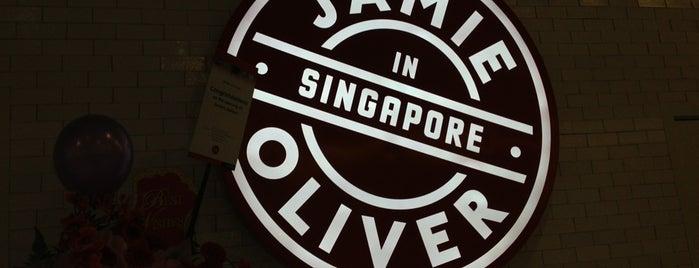 Jamie's Italian is one of Singapore.