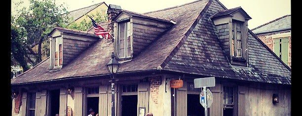 Lafitte's Blacksmith Shop is one of New Orleans, LA.