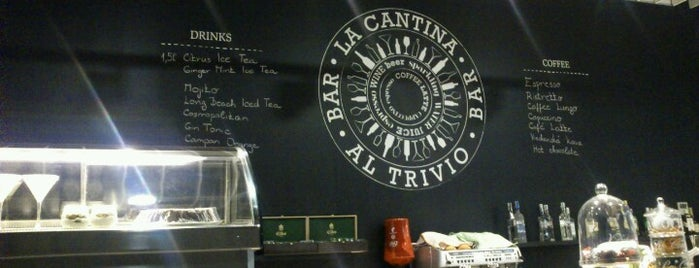 Al Trivio is one of TREND Top restaurants.