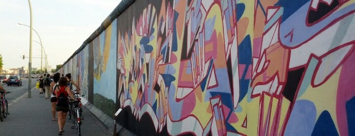 East Side Gallery is one of Berlin, baby!.