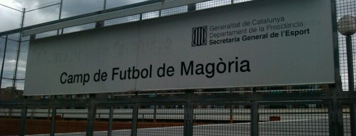 Campo de fútbol Magoria is one of Barcelona.