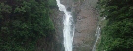 Shōmyō Falls is one of 日本の滝百選.
