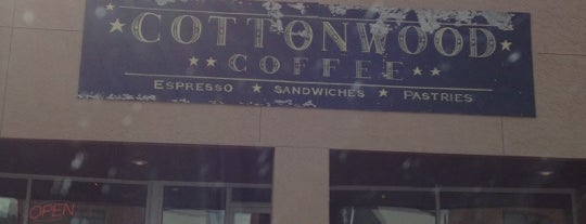 Cottonwood Coffee is one of Places to Eat in Brookings, SD.