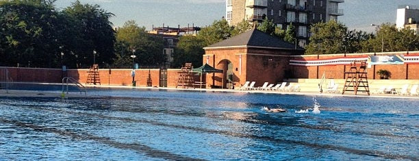 McCarren Park Pool & Play Center is one of Free/dirt cheap NYC places to take out-of-towners.